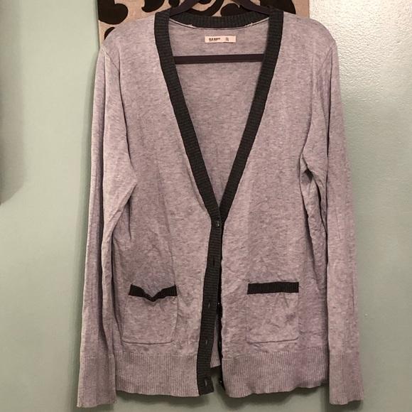 f253082155a2d Old Navy Sweaters | Super Soft Grey Grandpa Cardigan | Poshmark